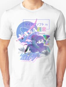 NASA Alien vaporwave aesthetics T-Shirt