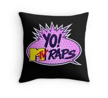 Yo MTV Raps Throw Pillow