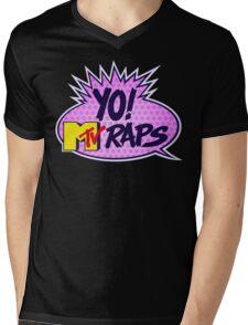 Yo MTV Raps Mens V-Neck T-Shirt