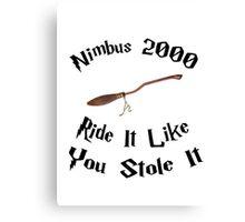 Harry Potter - Nimbus 2000 Canvas Print