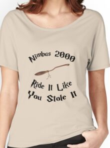 Harry Potter - Nimbus 2000 Women's Relaxed Fit T-Shirt