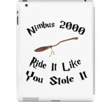 Harry Potter - Nimbus 2000 iPad Case/Skin