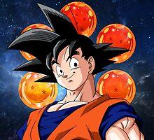 DBZ - Goku by J. Danion