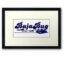 Baja Bug Framed Print