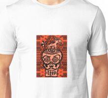LIZARD ON SKULL Unisex T-Shirt