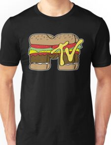 MTV Burger Logo Unisex T-Shirt