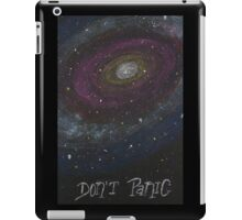 Don't Panic - The Hitchhiker's Guide to the Galaxy iPad Case/Skin