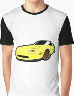 Convertible yellow japan car Graphic T-Shirt