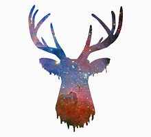Space and deer modern poster Unisex T-Shirt