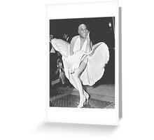 Ainsley harriott marilyn monroe (hariot harriot) Greeting Card