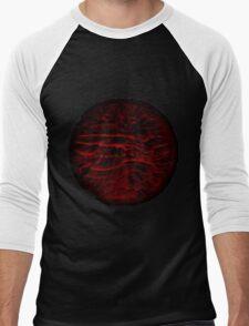 Red Blossom Men's Baseball ¾ T-Shirt