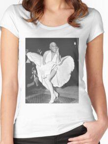 Ainsley harriott marilyn monroe (hariot harriot) Women's Fitted Scoop T-Shirt