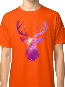 Space and deer modern poster  Classic T-Shirt