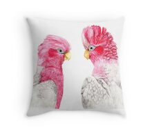 Look Who's Talking Throw Pillow