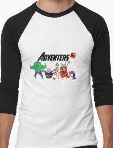 Avengers Men's Baseball ¾ T-Shirt