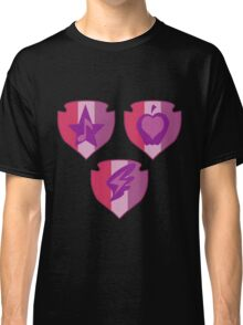 My little Pony - Crusaders Cutie Mark Black Classic T-Shirt