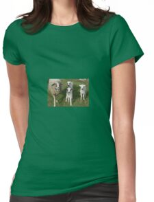 Ewe and Three Lambs Making Eye Contact T-Shirt