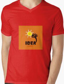 Idea Mens V-Neck T-Shirt