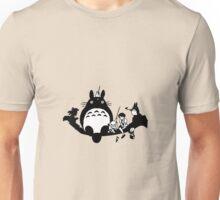 Totoro! (BnW) Unisex T-Shirt