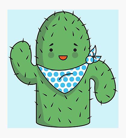 Mr J.G Cactus  Photographic Print