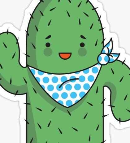 Mr J.G Cactus  Sticker