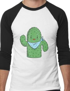 Mr J.G Cactus  Men's Baseball ¾ T-Shirt