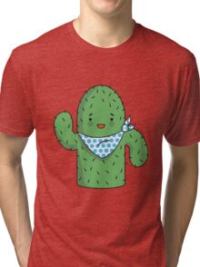 Mr J.G Cactus (sky) Tri-blend T-Shirt