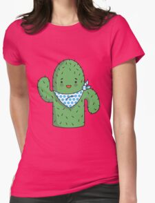 Mr J.G Cactus  Womens Fitted T-Shirt