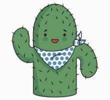 Mr J.G Cactus (sand) Kids Tee