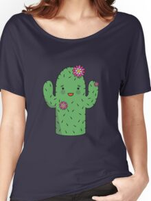 Mrs J.G Cactus (sky) Women's Relaxed Fit T-Shirt