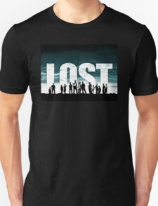 Lost - Title and Characters Unisex T-Shirt