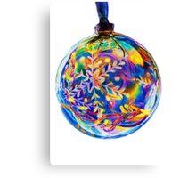 Colourful Bauble Decoration Canvas Print