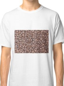 Coffee beans texture Classic T-Shirt