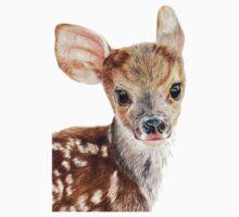 Cute Baby Deer/ Fawn Kids Tee