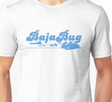 Baja Bug Blue Unisex T-Shirt