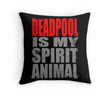 Deadpool 2015 Throw Pillow