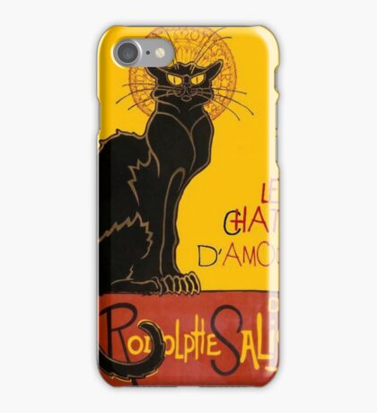 Le Chat D'Amour Love Greeting  iPhone Case/Skin