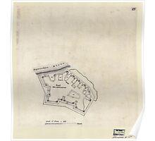 Civil War Maps 0389 Fort McAllister Georgia Poster