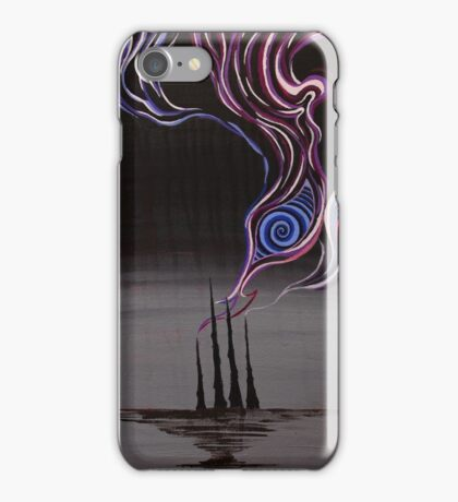 The Silent Stacks iPhone Case/Skin