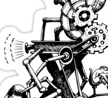 RAT REVERSE-CYCLE STEAM ENGINE Sticker