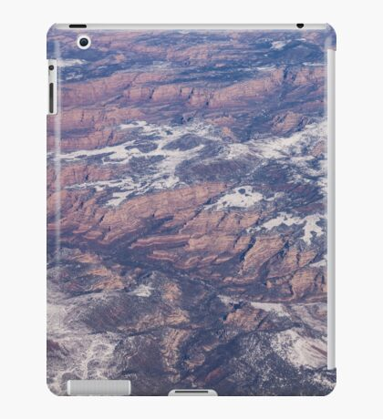 Red Earth Canyons with a Dusting of Snow iPad Case/Skin
