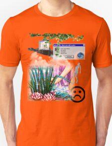 Mystic Lake Vaporwave Aesthetics Unisex T-Shirt