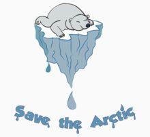 Save the Arctic bear Kids Tee