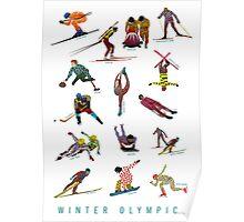 Winter Olympics Poster
