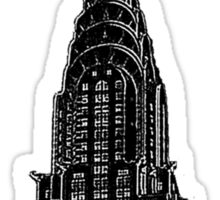 Chrysler Building New York Sticker