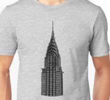 Chrysler Building New York Unisex T-Shirt