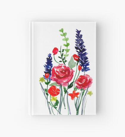 Flowers Hardcover Journal