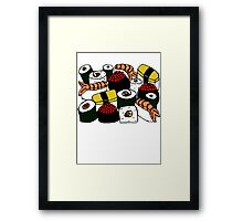 Yummy Sushi! Framed Print