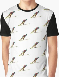 Ski Jumper Graphic T-Shirt
