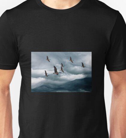 cloud mountains Unisex T-Shirt